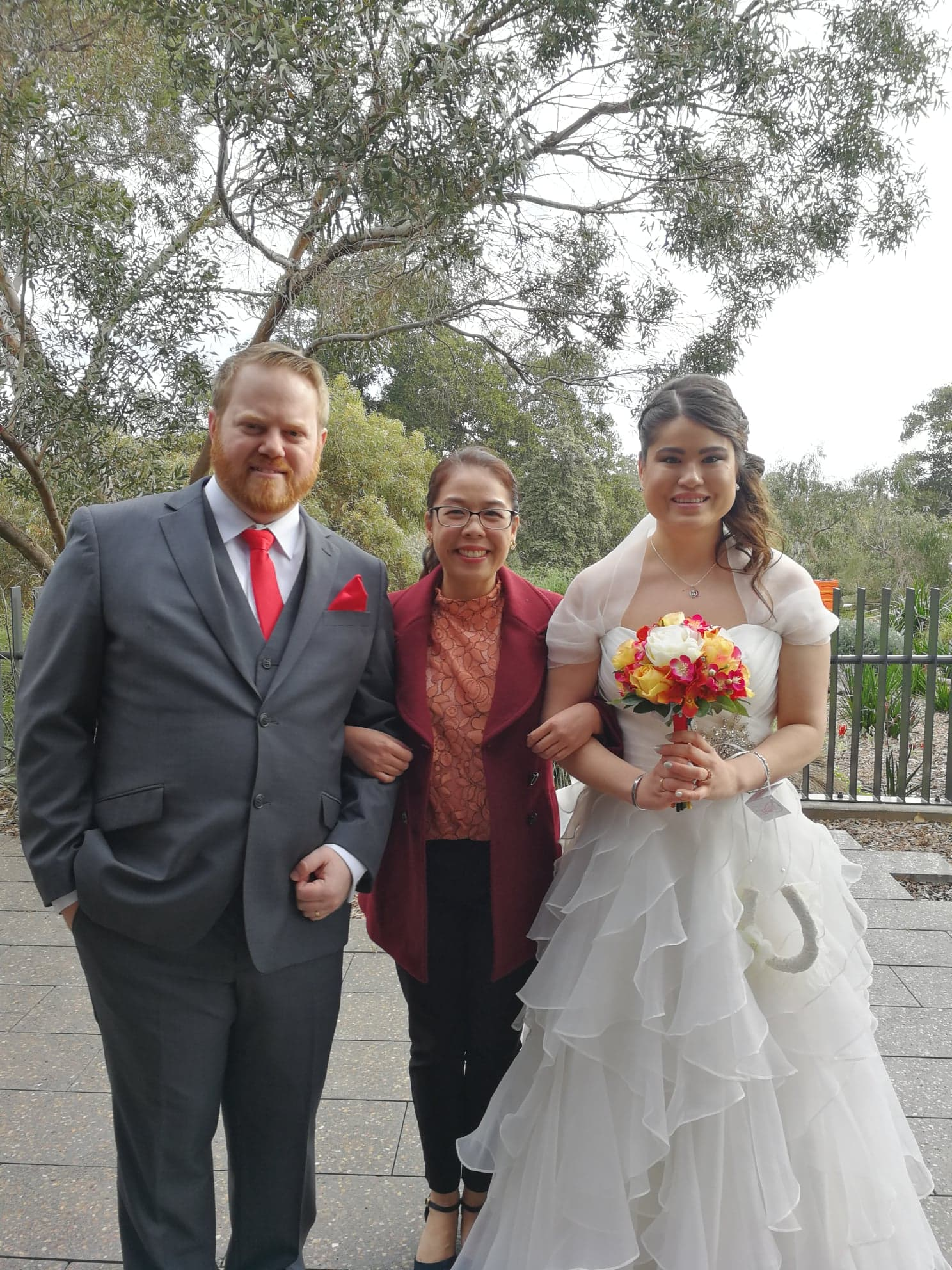 Emily and Simon - Adelaide Zoo